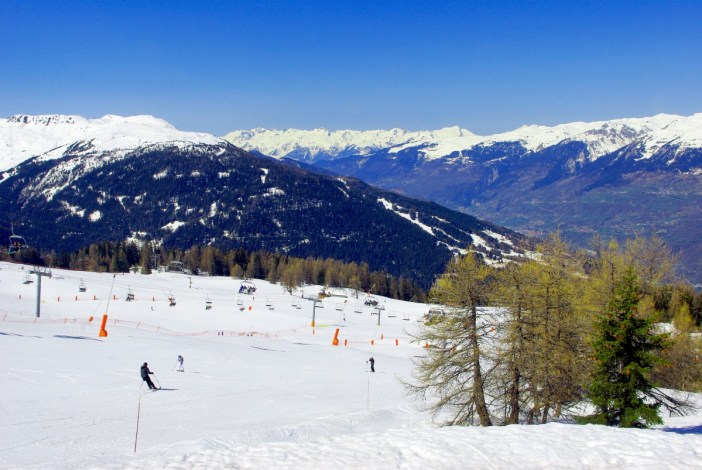 The ski domain of Vallandry (Paradiski) © French Moments