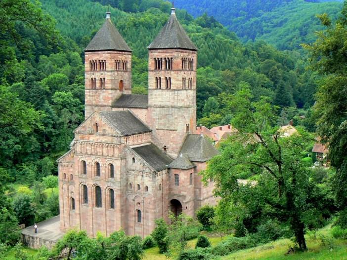 The abbey of Murbach © French Moments