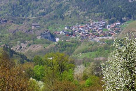 The village of Villette (Aime-la-Plagne) © French Moments