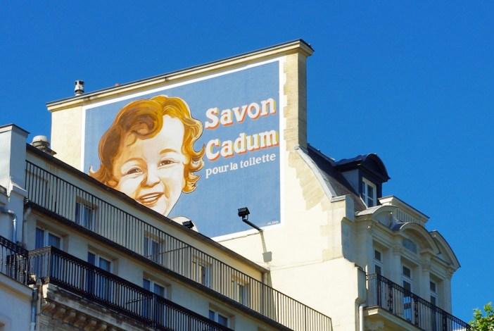 Cadum Advertisement at 3 Boulevard Montmartre Paris © French Moments