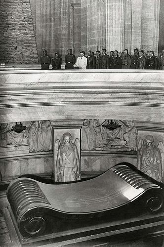 Hitler's visit to Napoleon's Tomb in 1940