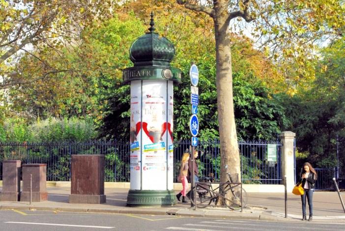 Morris Column, Square de la Tour Saint-Jacques , 4th arrt of Paris © French Moments