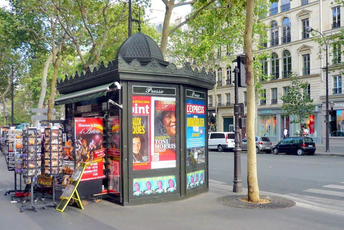 The iconic newspaper kiosks of Paris - French Moments