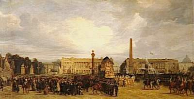 Retour des Cendres at the Place de la Concorde