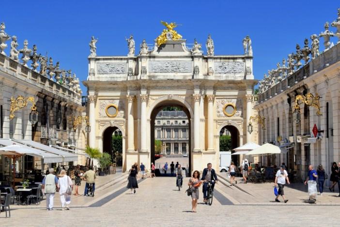 triumphal arches in France: Arc Héré, Nancy © French Moments