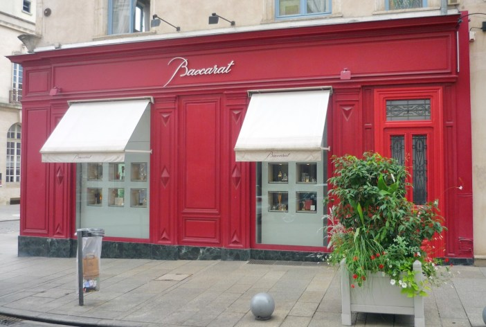 The Baccarat store, Nancy © French Moments