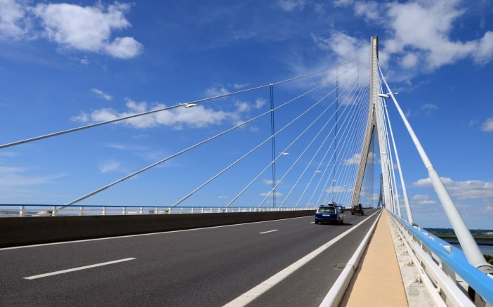 Pont de Normandie © Pline - licence [CC BY-SA 3.0] from Wikimedia Commons