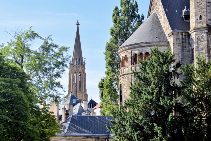 The two Protestant churches of Metz © French Moments