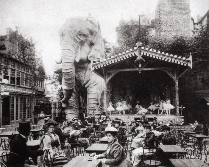 The Elephant of the Moulin Rouge