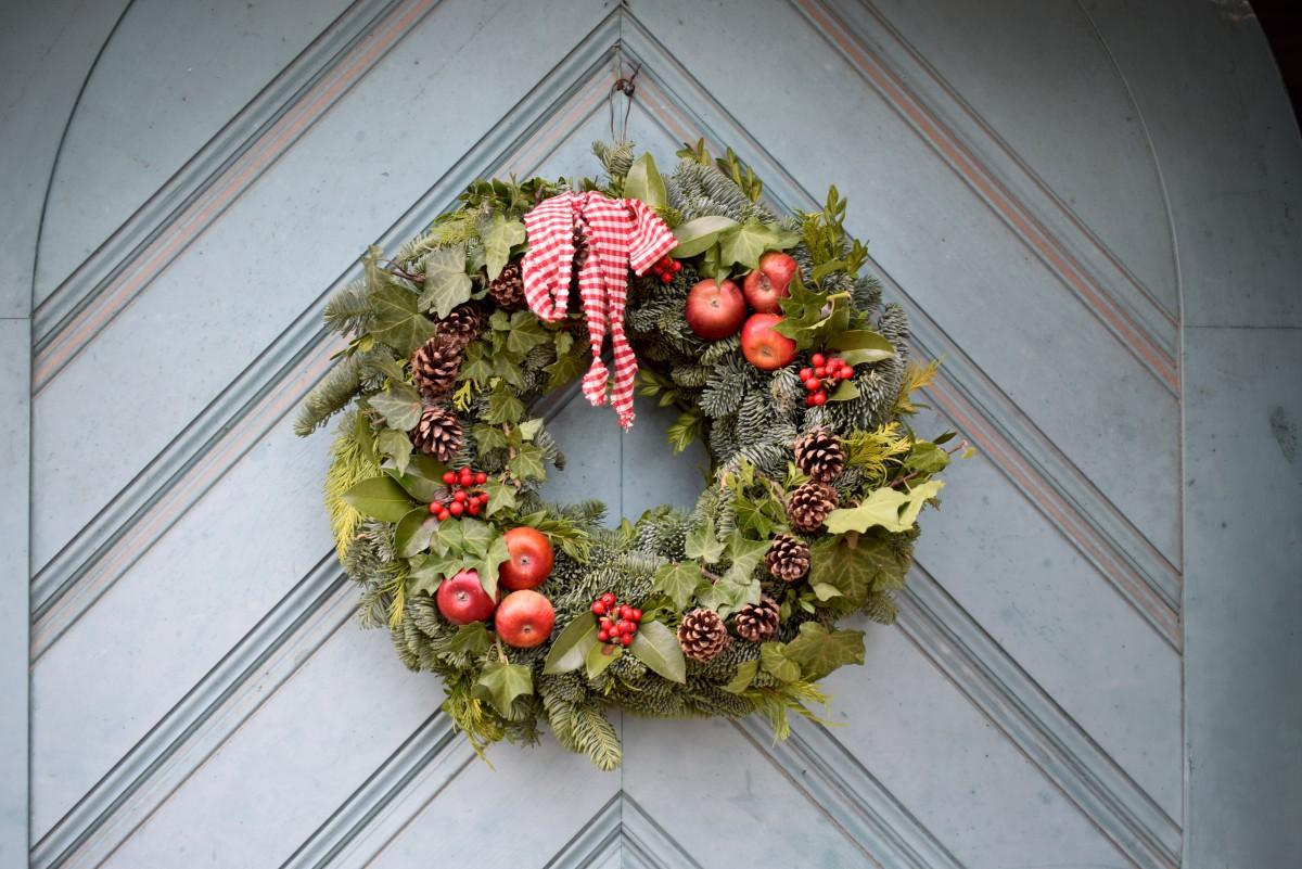 Merry Xmas HOUX COEUR mini Tin Cadeau Joyeux Noël Stocking Filler