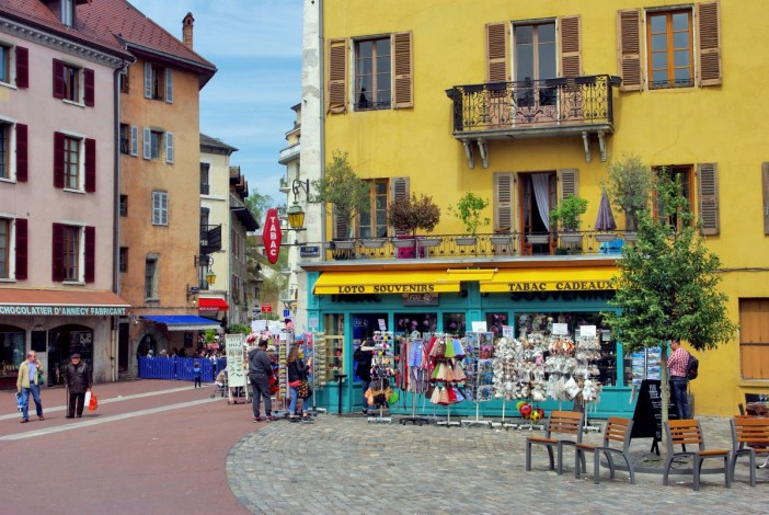 Place Saint-François de Sales, Annecy © French Moments
