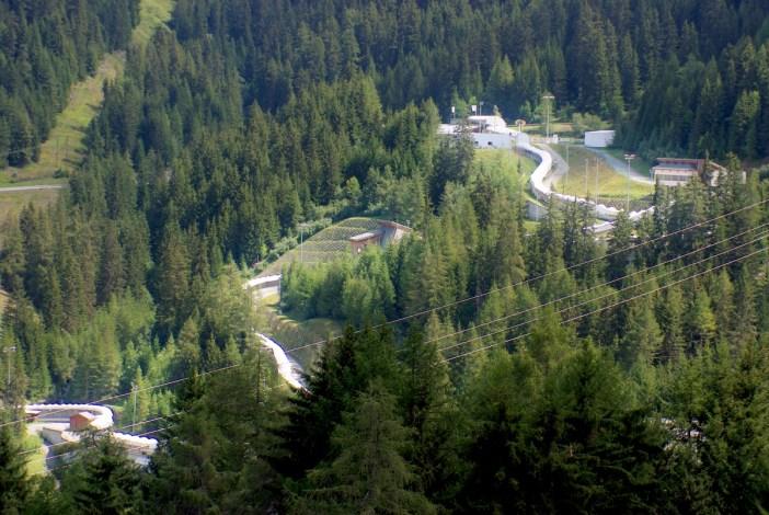 La Plagne Bobsleigh track © French Moments