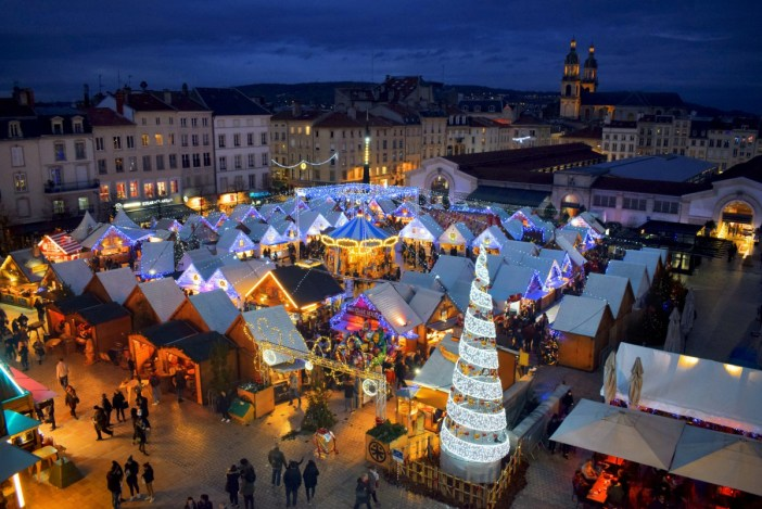 Photos of Christmas in France - The Saint-Nicolas market, Nancy © French Moments