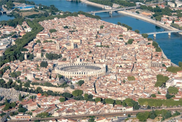 Arles from above - Stock Photos from Francois BOIZOT - Shutterstock