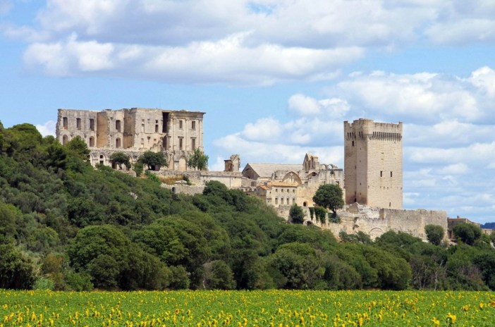 The abbey of Montmajour - Stock Photos from LianeM - Shutterstock