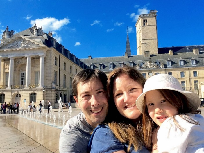 Our family in Dijon! © French Moments