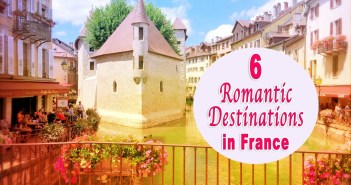 Romantic Destinations in France © French Moments