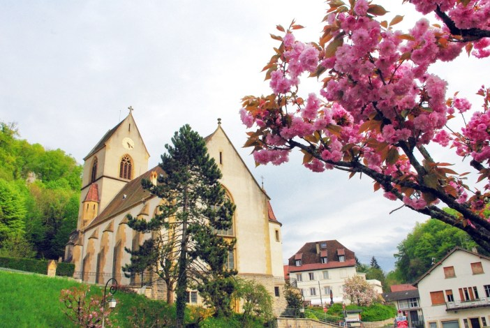 Photos of Spring in Alsace - Ferrette © French Moments