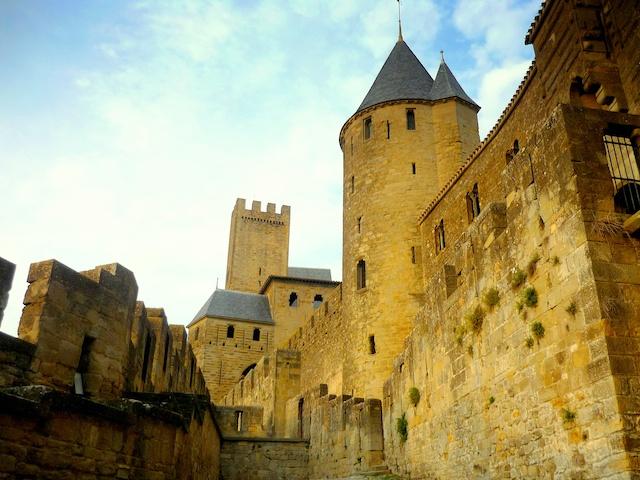 Cité of Carcassonne (Porte d'Aude) © French Moments