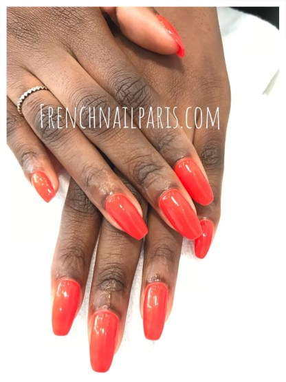 Pose vernis permanent mains