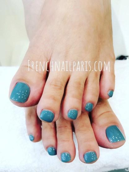 Beauté des pieds avec vernis permanent Soins pour les pieds