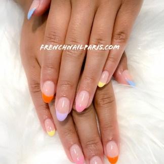 Vous rêviez des ongles ultra glamour ? Optez pour des ongles en résine assortie d'un vernis semi permanent parfaitement préparée.