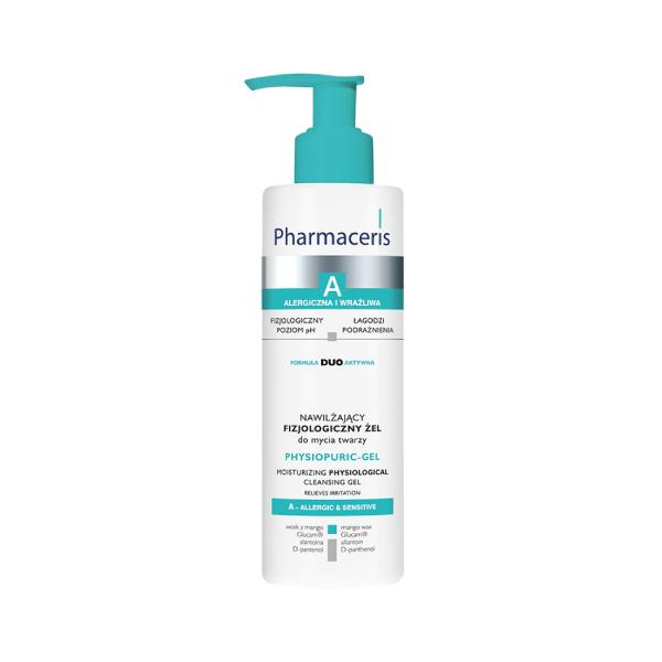 Pharmaceris A- PHYSIOPURIC-GEL rensegel til ansigt og øjenomgivelser