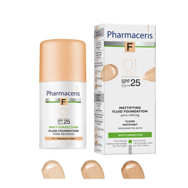 Pharmaceris F blid matterende foundation