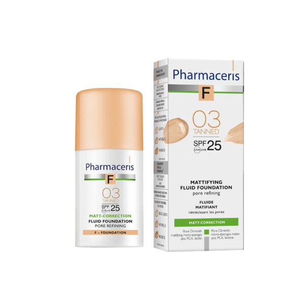 pharmaceris F-foundation-matterende-tanned 03