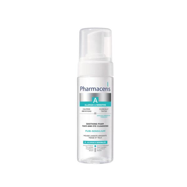Puri-Sensilium- Beroligende renseskum til ansigt og øjenomgivelser