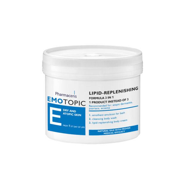 Lipid fornyende formular til badning vask pleje