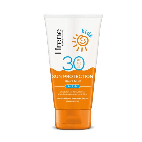 Lirene sol beskyttelse body milk