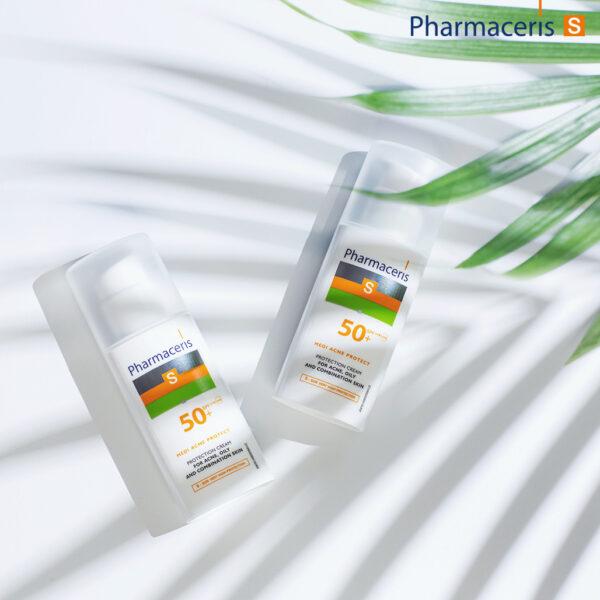 Solbeskyttelse til akne hud- pharmaceris s