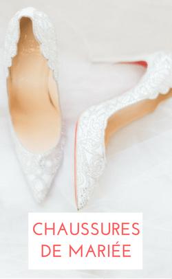 shopping chaussures de mariée