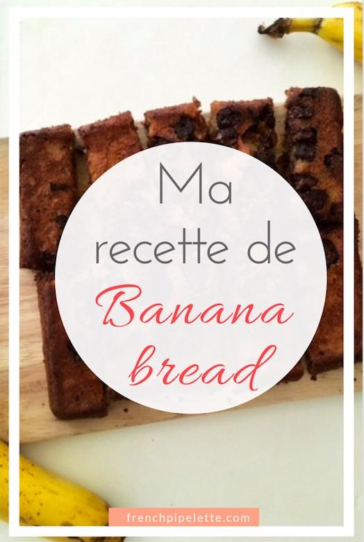 Recette de banana bread