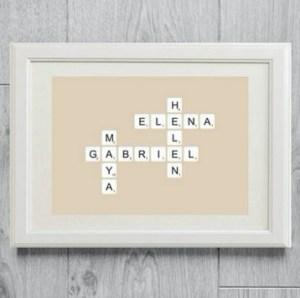 affiche personnalisée - idées cadeaux fête des mères