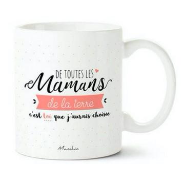 mug - idées cadeaux fête des mères