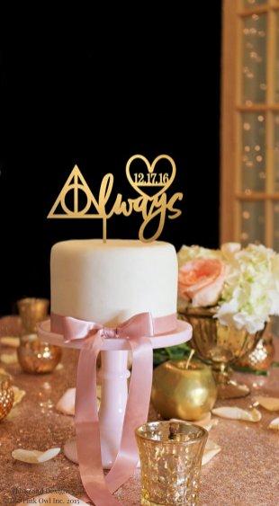 Cake topper Harry Potter