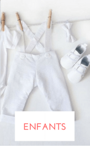 shopping tenue enfants mariage