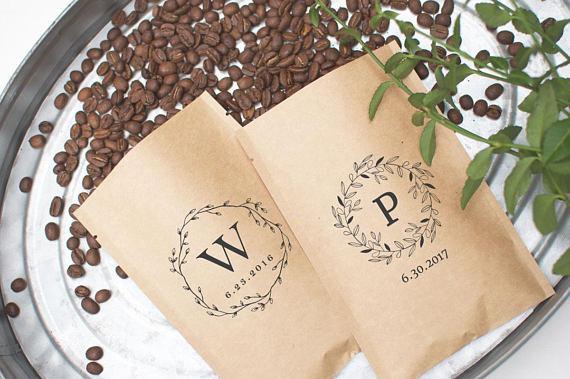 Pochettes à café