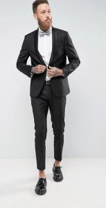 Costume slim et stretch noir - à partir de 215,98€ -