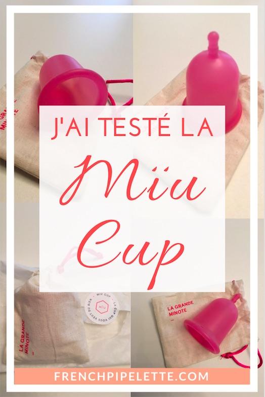 La coupe menstruelle Mïu Cup