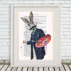 Illustration vintage - idées cadeaux saint valentin
