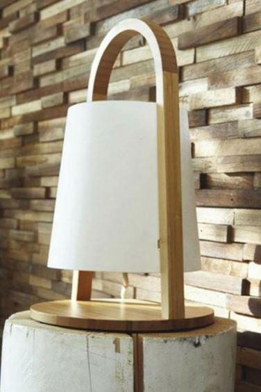 idée déco salon lampe
