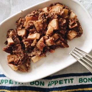 Buckwheat Muesli Apple Bake