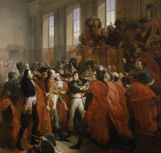 Coup d'état of 18 Brumaire by BONAPARTE