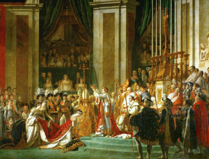 Establishment of the Napoleon Empire