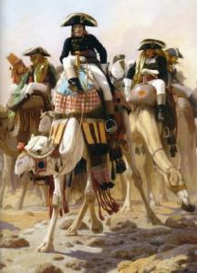 Bonaparte's Egyptian expedition begins.