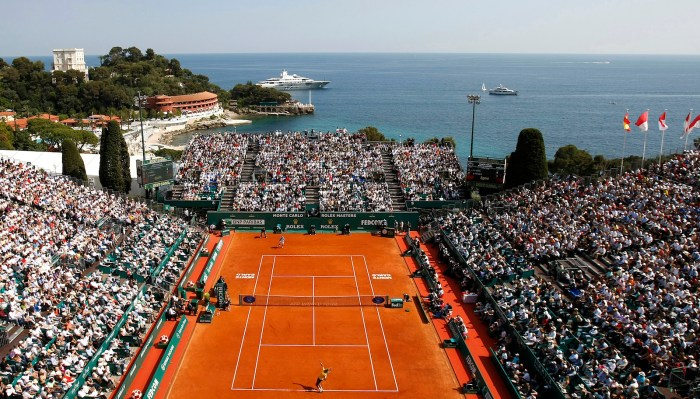 Monte-Carlo Rolex Masters at Monte-Carlo Country Club, Principality of Monaco