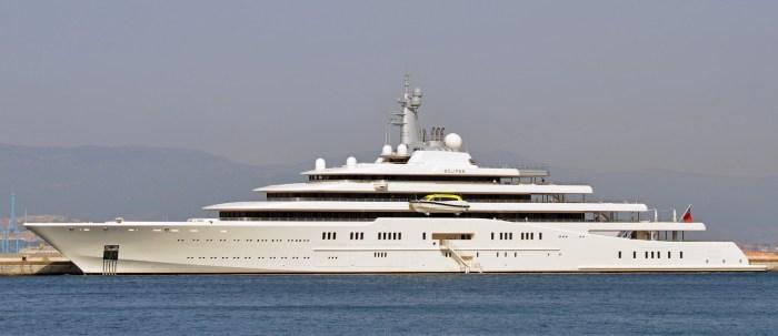 ECLIPSE yacht Roman Abramovich